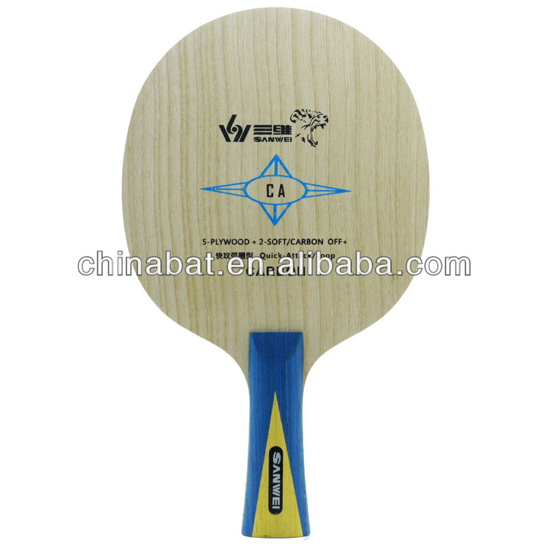 SANWEI 2 Carbon table tennis blade /table tennis bat C series:CA