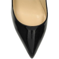 Туфли на высоком каблуке 2013 Newest fashion Black Patent Leather Women Shoes, 120mm Sexy High Heels Shoes, Lady Dress Shoes