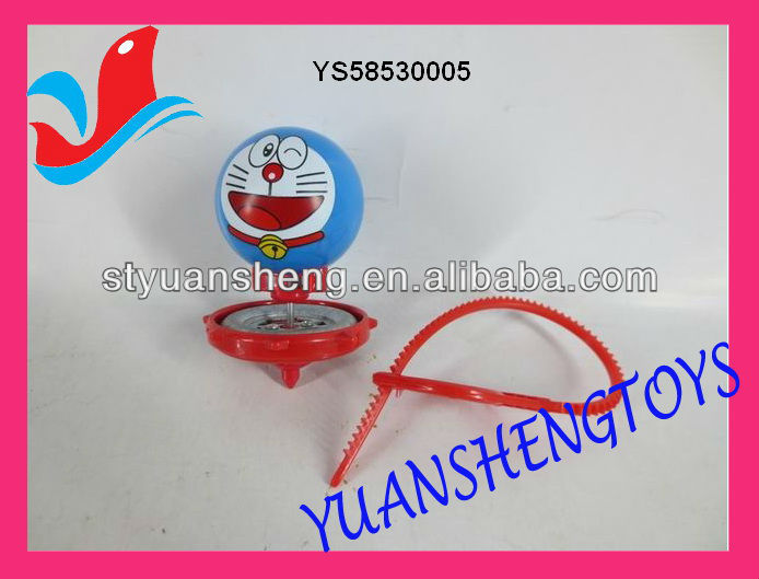 Super top toy measure tape spinning top toy