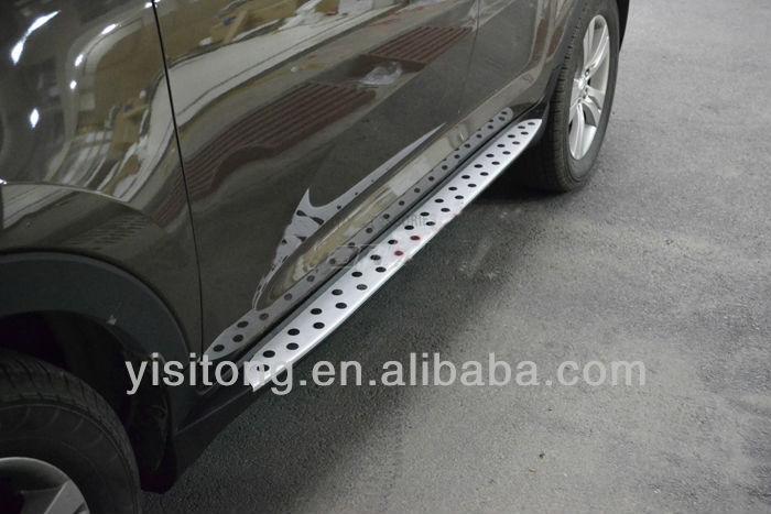 plastic aluminium alloy auto tuning parts running board side step bar