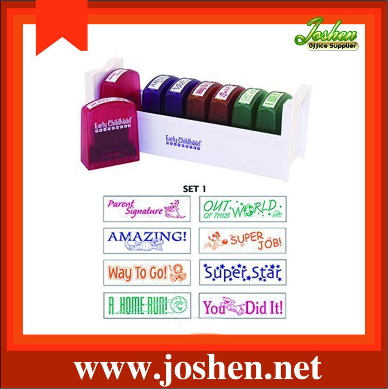 maßgeschneiderte gummi selbst tintenstempel für Lehrer Hause Pädagogen Eltern