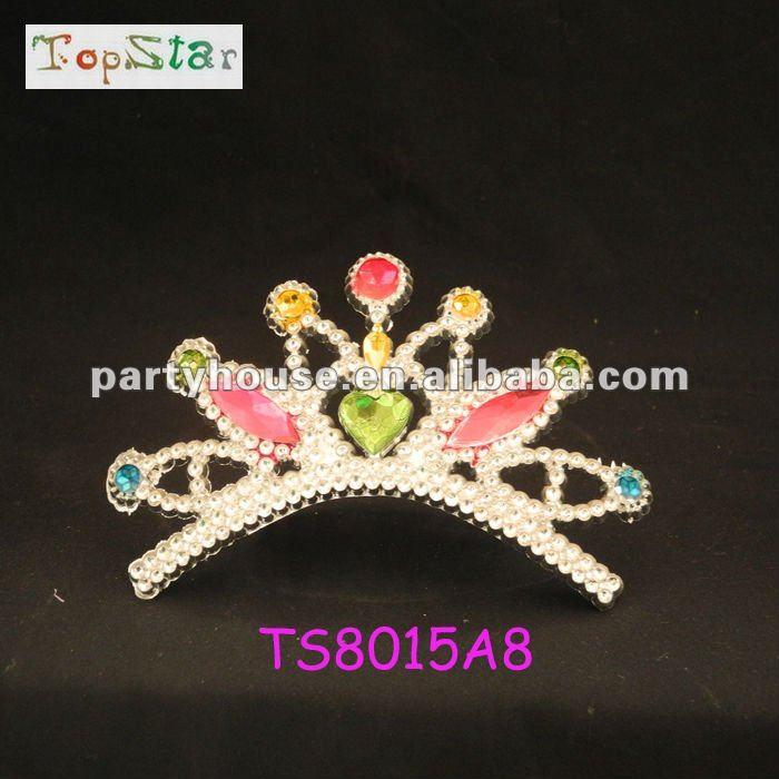 Silver Toys Fairy Princess Tiara With Diamond