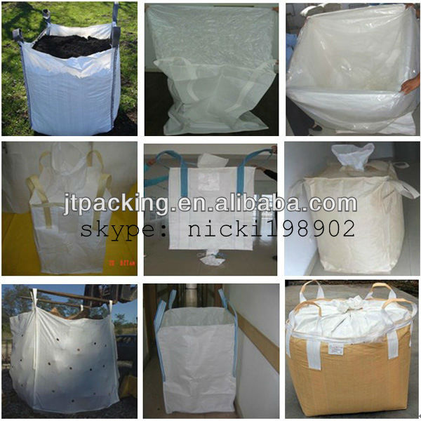 pp woven jumbo bag manufacturer for sand