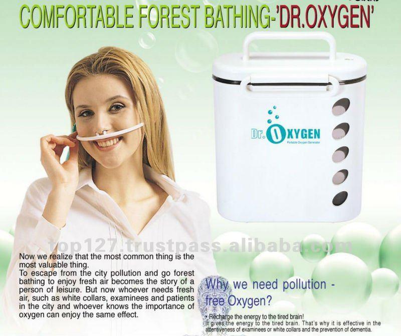 Oxygen Generator Dr. Oxygen portable