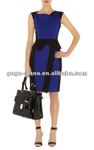 Office Blouses Designs Dresses http://gogo-anna.en.alibaba.com/product/610346456-213825493/New_Fashionable_Blue_Office_Lady_Wear_Dresses.html