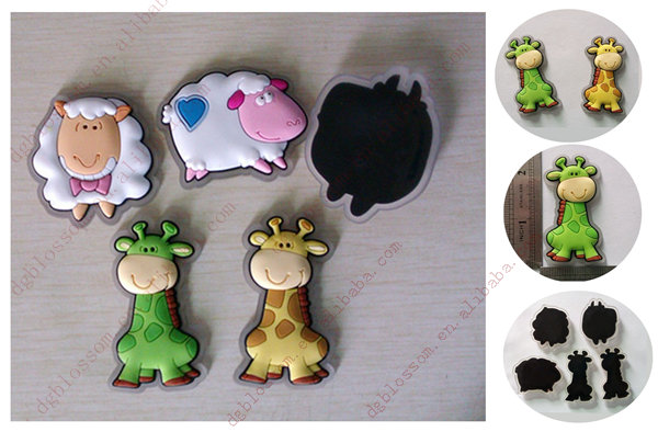 3d magnet for fridge Custom rubber fridge magnet maker