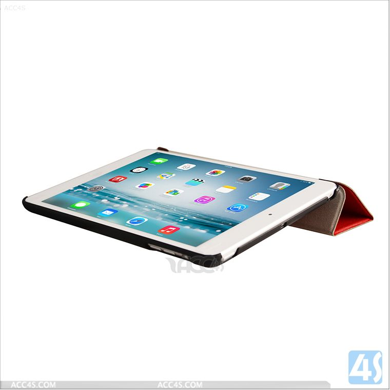 Ultra Thin Smart Leather Cover Case for iPad Mini with Retina P-IPDMINIiiCASE006