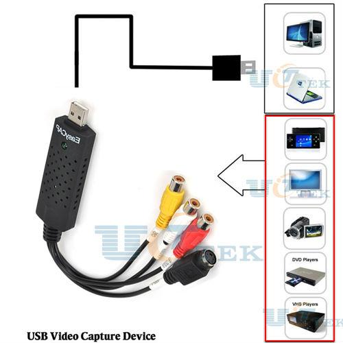 EASYCAP USB 2 0 Audio Video Capture Adapter TV