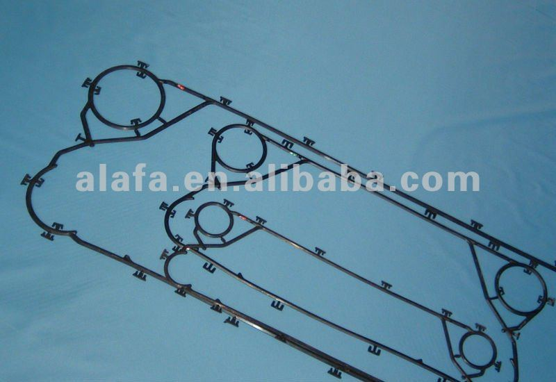 Sondex gasket for plate heat exchanger ,nbr,epdm,viton material PHE gasket available