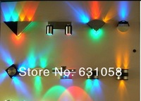 Праздничное освещение New+ fashion 3W led KTV wall lamp RGB high power led indoor/outdoor decorative wall lamp 85-265V energy saving