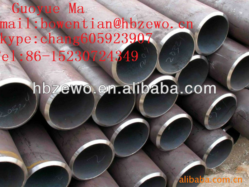 ASTM A53/A106GR.B cold drawn low carbon seamless steel pipe china ltd