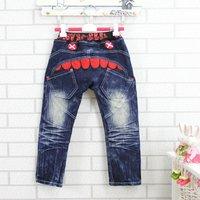 2012 Hot sale Cute children jeans boy jeans kids cowboy trousers jean pants bottoms 5pcs/lot each size free shipping