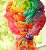 цвет мела временные волос выкрасьте пастельные мелки пастели волшебные мелки 48 набор цветов ems 5