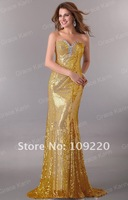Вечернее платье GK Sexy Shinning Sequins Prom Party Gown Evening Dress 8 Size, Sequins CL2531