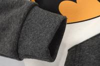 Комплект одежды для девочек 2013 New 100% cotton fashion winter batman hooded baby boy girl clothing sets kids casual clothes children outwear plus size