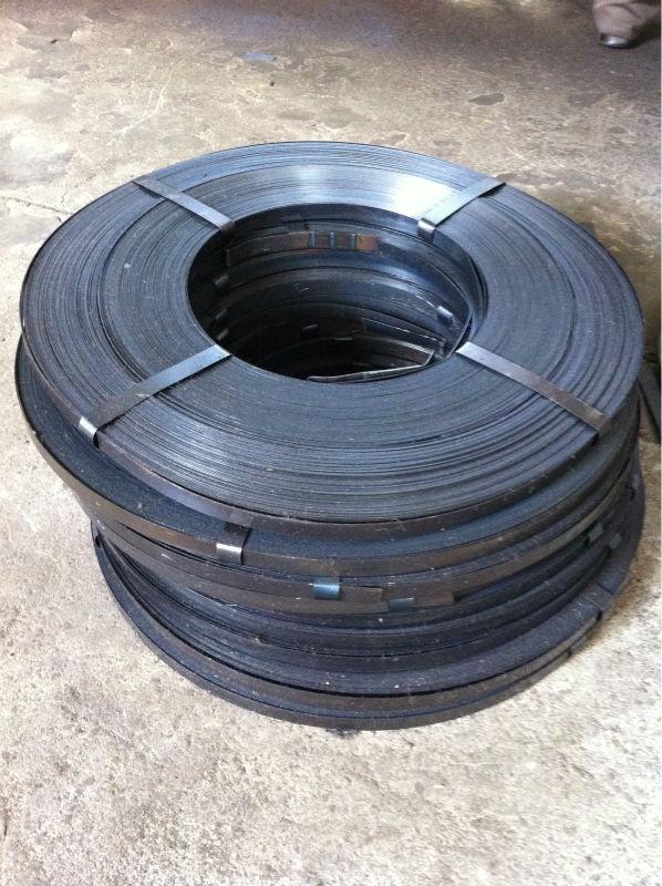 blue steel strips for packaging