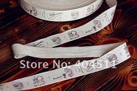 Лента Cotton Ribbon Sewing Label 10 meter-handmade - listen to my heart
