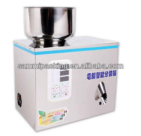 grain medicine herb packing machine, tea weighing machine 2-50g
