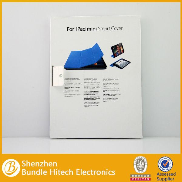 HOT for ipad mini case,original leather smart cover for ipad mini