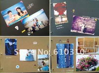 free shipping Full Love DIY PHOTO ALBUM Scrapbook Paper Crafts for baby wedding picture photograph holder