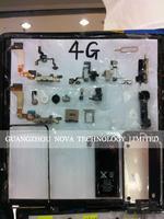 Гибкий кабель для мобильных телефонов High Quality Ear Speaker for iPhone 4 4G 4S Speaker; HK 200pcs/lot