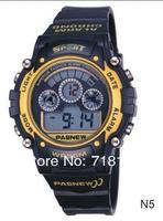 Наручные часы HighQuality PASNEW Water-proof Dual Time Students Boys Sport Watch PSE-149B