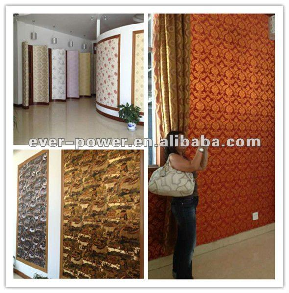 got selling projects wallpaper/wallcovering for hotel