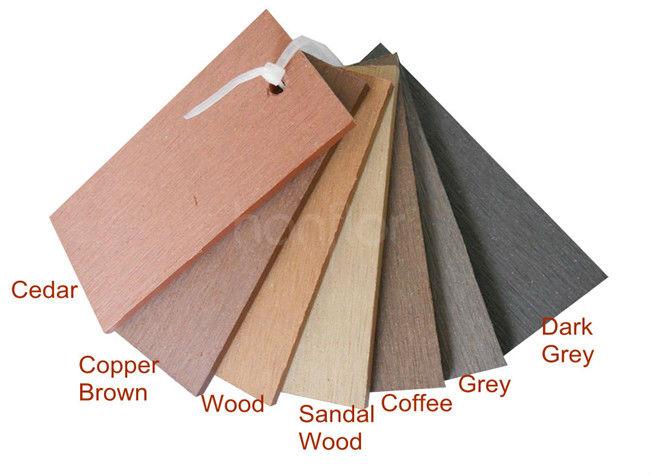 Sólidos wpc decks várias cores e texturas