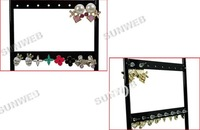 Дисплей для ювелирных изделий Jewelry Earring display, Necklace showcase Jewelry Display Rack stand holder 32 Holes Black 963