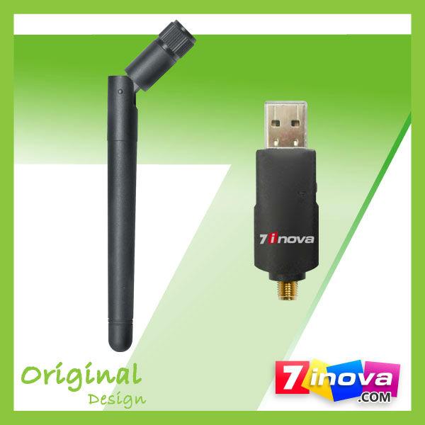 7U300A 300Mbps rj45 wireless network adapter w/Detachable antenna