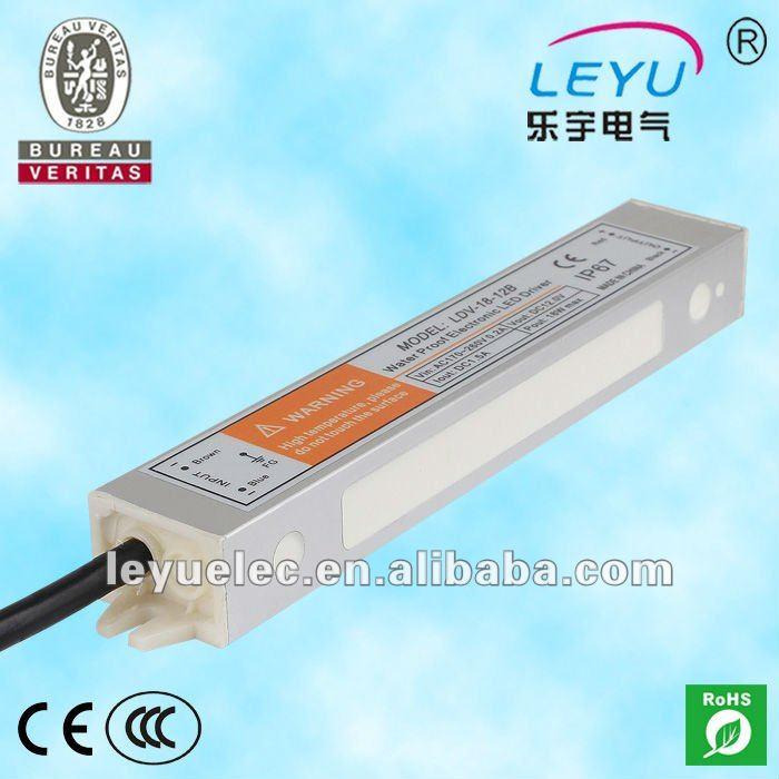 18W waterproof electronic led driver