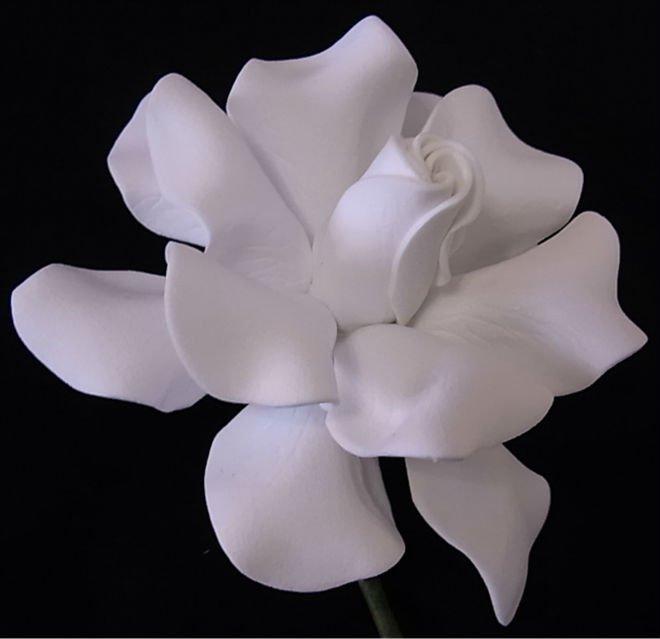 White foam decorative artificial gardenia flowers buy decorative gardenia1045022 mightylinksfo