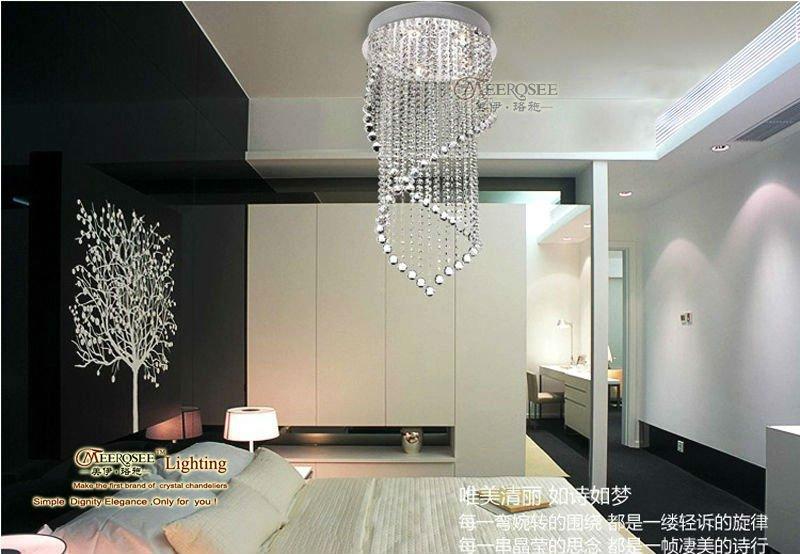 e bay lampadari : Details about Modern Crystal Chandelier Light Fixture Crystal Pendant ...
