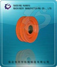 OEM Sand Casting flat belt drive pulley