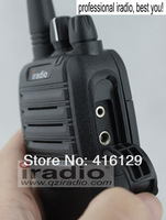Рация iradio 600plus cheapest 5W handheld uhf 2 way radio set with headset for kenwood baofeng connector, pmr radio is available