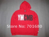 2012 Men's YMCMB hoody + pants.Men's pants, Men's fashion coats100% cotton hoody.Men's designer hooded coat.Men's cotton pants