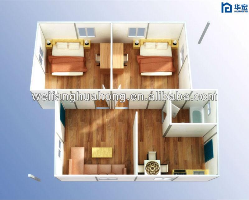 정원 하우스 조립식, 오두막 집 현대 조립식 별장-조립식 주택 ...