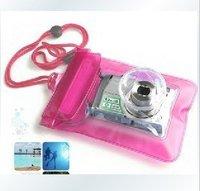 Аксессуары и Запчасти для фотокамер NEW Underwater Waterproof Case Bag Pouch For Digital Camera