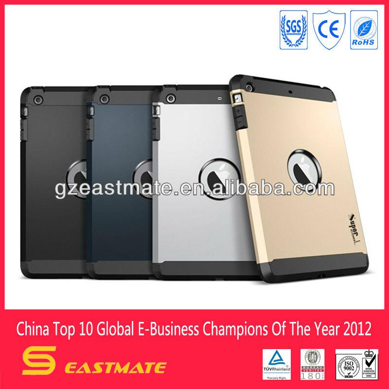 Super Tough Armor case for ipad mini 2, phone case for ipad mini 2