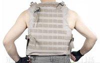 Мужской жилет 2011 hot sale men USA tactical multi-function nylon canvas mud color outdoor coat vest