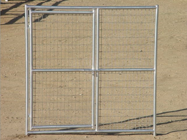 5ftx10ftx6ft heavy duty galvanized folding metal mesh cage for dogs
