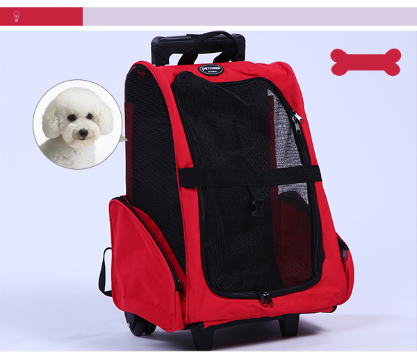 Pet Trolley Carrier Dog Trolley