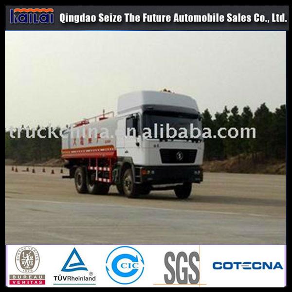 Shanqi 6x4 20000L Oil/Fuel Tank Truck,Tanker Truck,Truck aluminum fuel tanks