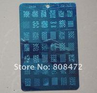 Nail Art шаблоны О.Б. ногтей CK серии