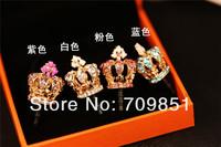 Корона пылезащитный штекер для iphone ipad samsung htc вилка пыли plug пробка телефон Джек 20pcs/lot