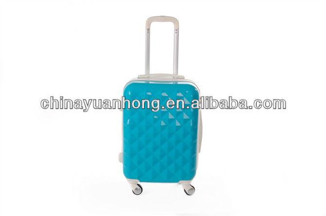 100%PC Factory sky travel luggage bag 3pc set