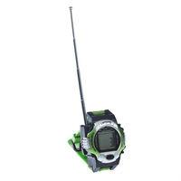 Рация 300m Walkie talkie intercom toys designed Simulation sports watch Toy 300 meters barrier-area Child baby Kid gift D41Q
