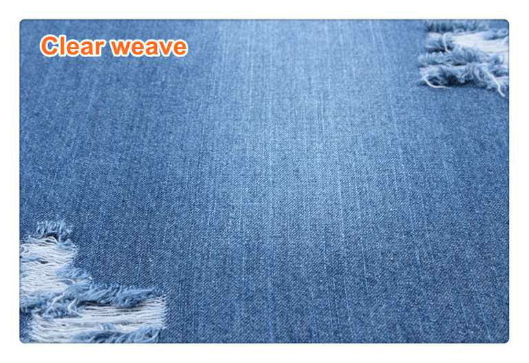 cheap price light weigh dark blue 2/1 for summer clothes pure cotton denim fabric B2503