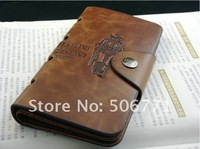 Кошелек Hot-sale Men's Coffee Leather Wallet Bifold Purse Notecase, fashion wallet#C526-76
