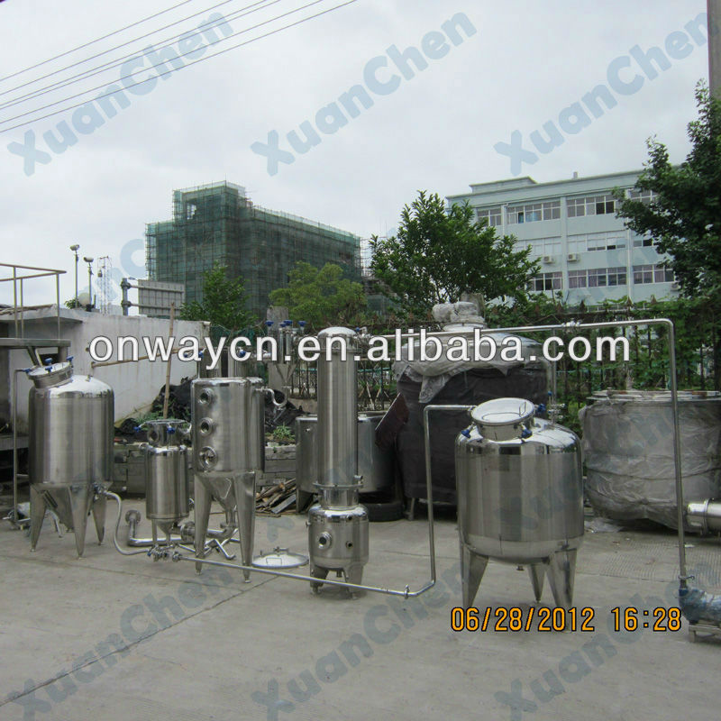 ZN high efficient factory price stainless steel vacuum fruit juice equipment